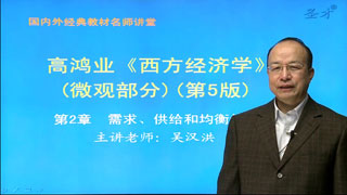 2021年中国农业科学院《803西方经济学》网授精讲班【教材精讲+考研真题串讲】
