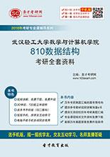 2019年武汉轻工大学数学与计算机学院810数据结构考研全套资料
