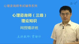 2017年5月心理咨询师(三级)理论知识网授精讲班【教材精讲+真题串讲】