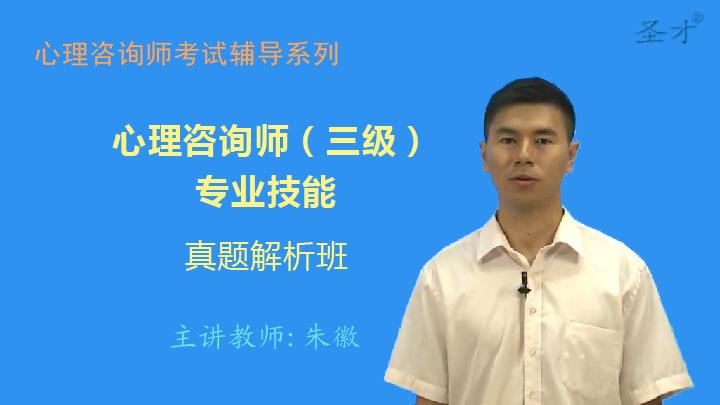 心理咨询师(三级)专业技能真题解析班(网授)