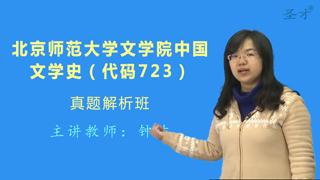 北京师范大学文学院723中国文学史真题解析班(网授)