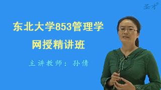 2019年东北大学853管理学网授精讲班(教材精讲+考研真题串讲)