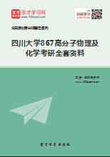 2019年四川大学867高分子物理及化学考研全套资料