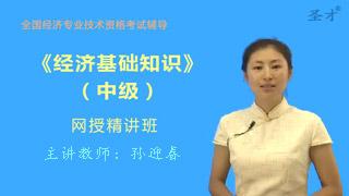 2020年经济师《经济基础知识(中级)》网授精讲班【教材精讲+真题串讲】