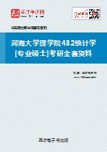 2019年河海大学理学院432统计学[专业硕士]考研全套资料