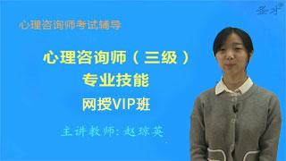 心理咨询师(三级)专业能力网授VIP班