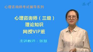 心理咨询师(三级)理论知识网授VIP班