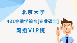 2020年北京大学431金融学综合[专业硕士]网授VIP班