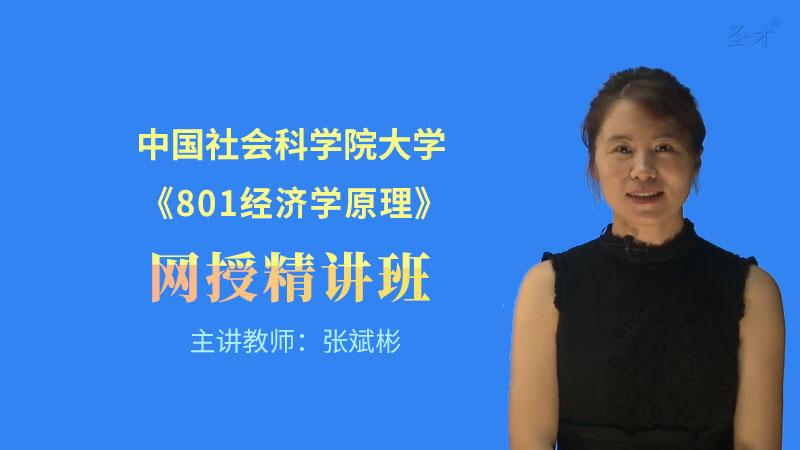 2022年中国社会科学院大学《801经济学原理》网授精讲班(教材精讲+考研真题串讲)