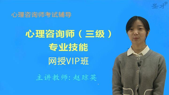 心理咨询师(三级)专业能力VIP班