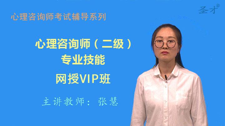心理咨询师(二级)专业能力VIP班