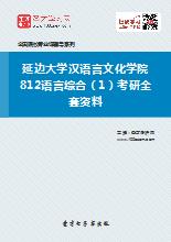 2019年延边大学汉语言文化学院812语言综合(1)考研全套资料