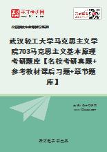 2021年武汉轻工大学马克思主义学院《703马克思主义基本原理》考研题库【名校考研真题+参考教材课后习题+章节题库】
