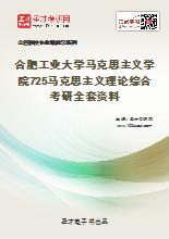2021年合肥工业大学马克思主义学院725马克思主义理论综合考研全套资料