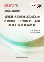 2020年湖北美术学院美术学系610艺术理论(艺术概论、美学原理)考研全套资料
