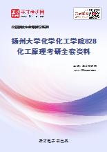2020年扬州大学化学化工学院828化工原理考研全套资料