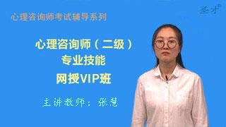 心理咨询师(二级)专业能力网授VIP班